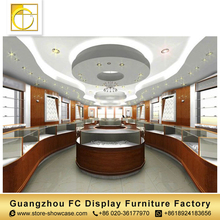 high quality furniture china watch display counter jewellery showroom furniture design