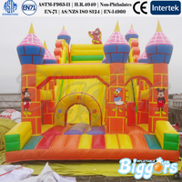 Canton Fair Inflatable Slide Mickey Mouse and Donald Duck for Christmas Gift
