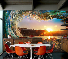Custom photo mural wallpaper scenery wall paper waterproof for home decorative TV background living room wallpaper