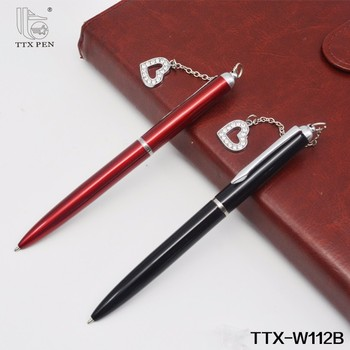 The novelty Ballpoint Pen with charm metal souvenir ballpoint pens