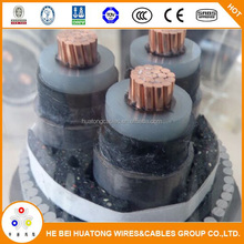 High voltage armoured xlpe insulated CU or Al types of electrical underground cables