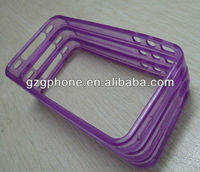 2013 back cover mobile cell phone cases accessories tpu fram cases for iphone 4gS