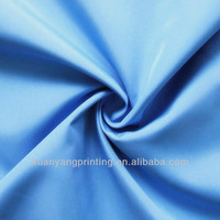 2016 100%recycle polyester pongee waterproof fabric