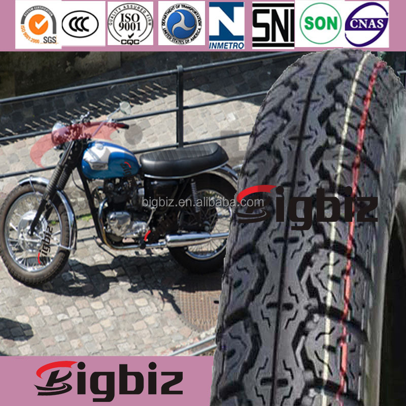 Motorcycle tire in china ,360h18 yellow colored tires motorcycle