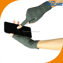 Half Finger Hand Arthritis Copper Gloves Best Medical Copper Gloves
