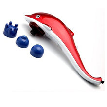 Good Quality Dolphin Blood Circulatory Battery Operated Handheld massager Machine (LC-889)