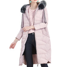Exquisite workmanship cost effective warm womens padded down jacket down vest women's