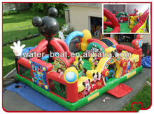 mickey inflatable playground, giant inflatable playground