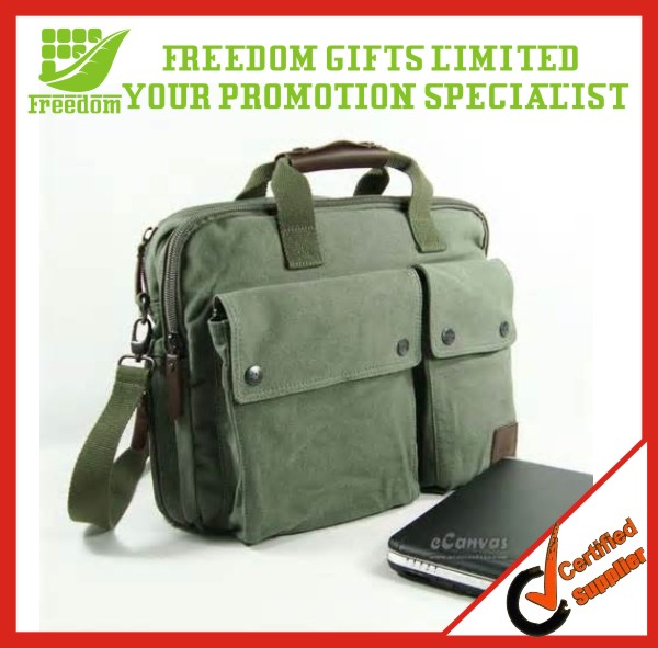 Promotional Customized Canvas Laptop Bag