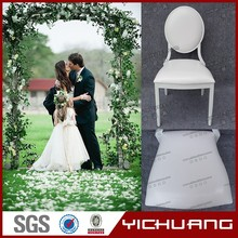 New design chinese aluminum white wedding chairs for sale YC-D78