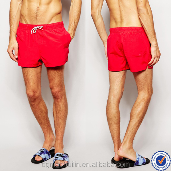 alibaba wholesale custom mens beach shorts mens athletic shorts red swimming shorts