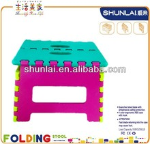 Munchkin Plastic Folding Stool,Foldable Step Stool For Easy Fold