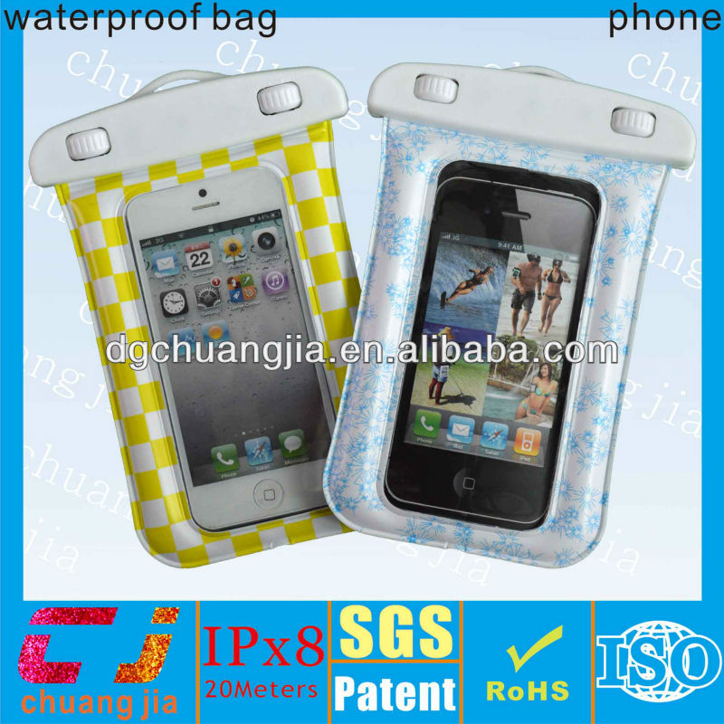best quality waterproof bag case for iphone 4 with IPX8 certificate for surfing