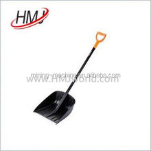 wooden handle plastic snow scoop