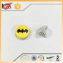Low price buttons studs rivets decorations metal rivet for garment