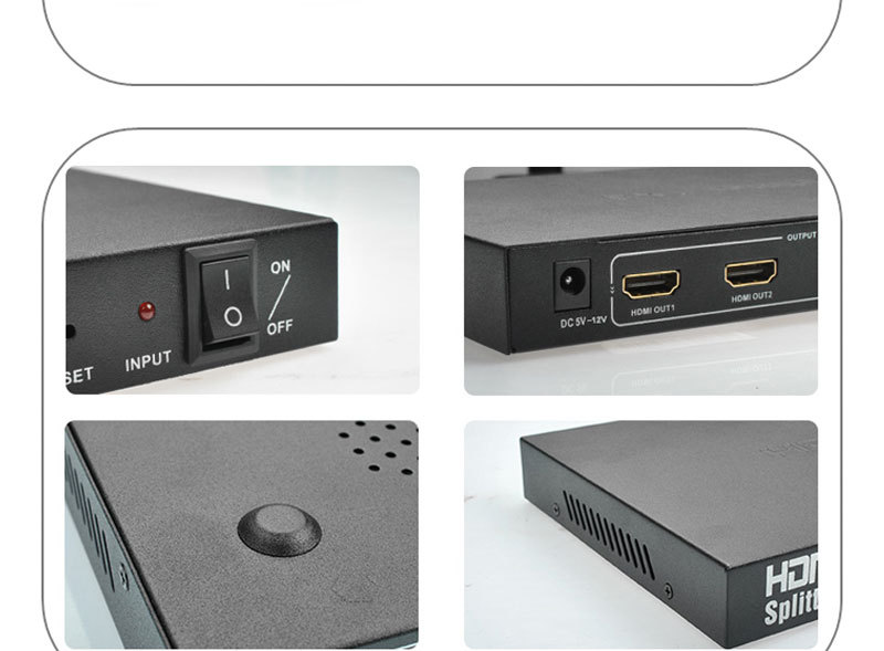 Factory promotional high speed 1080p 1x16 HDMI splitter