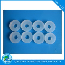 Clear food grade rubber washer