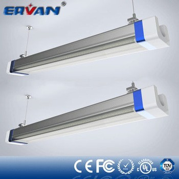 Ervan L07G IP66 water proof LED tube fluorescent plastic end caps trending hot products 4 foot led tube