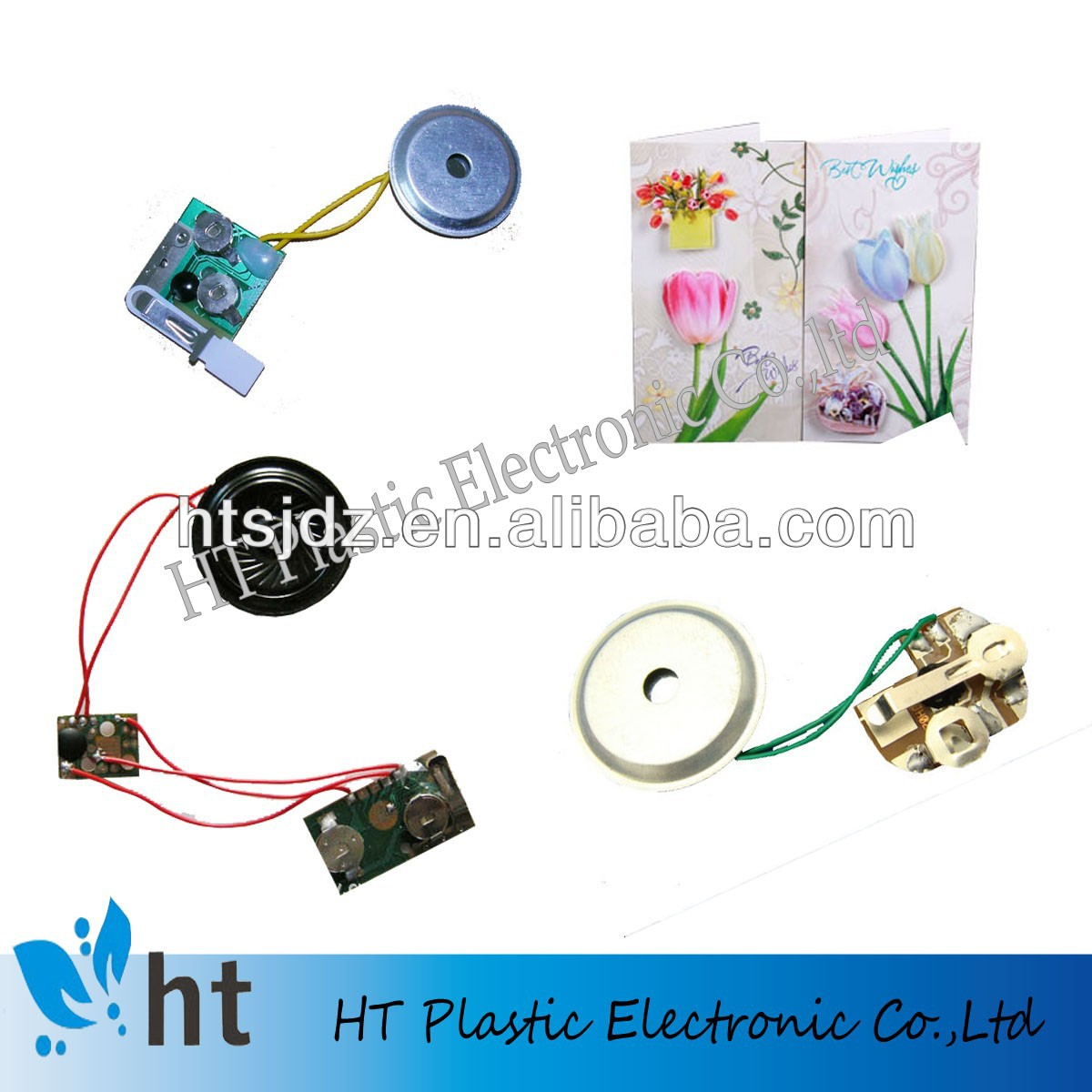 musical card device for toys/gift