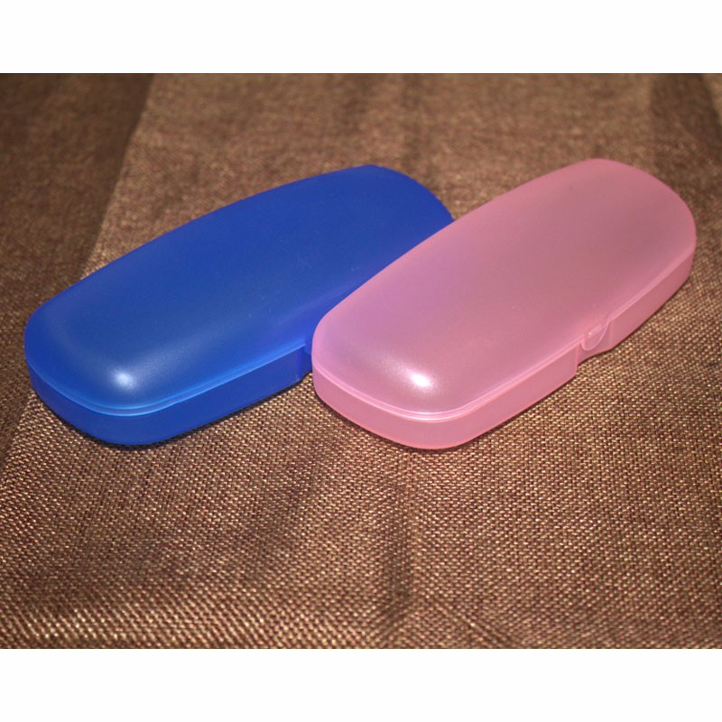 Custom Cheap Clear Plastic Reading Glasses Case