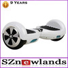 White smart 2 wheel mini tire hoverboard electric skateboard self balancing scooter