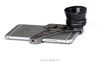 Smartphone Camera Lens Kit with Wide angle Lens, Telephoto Lens and Aluminum bracket