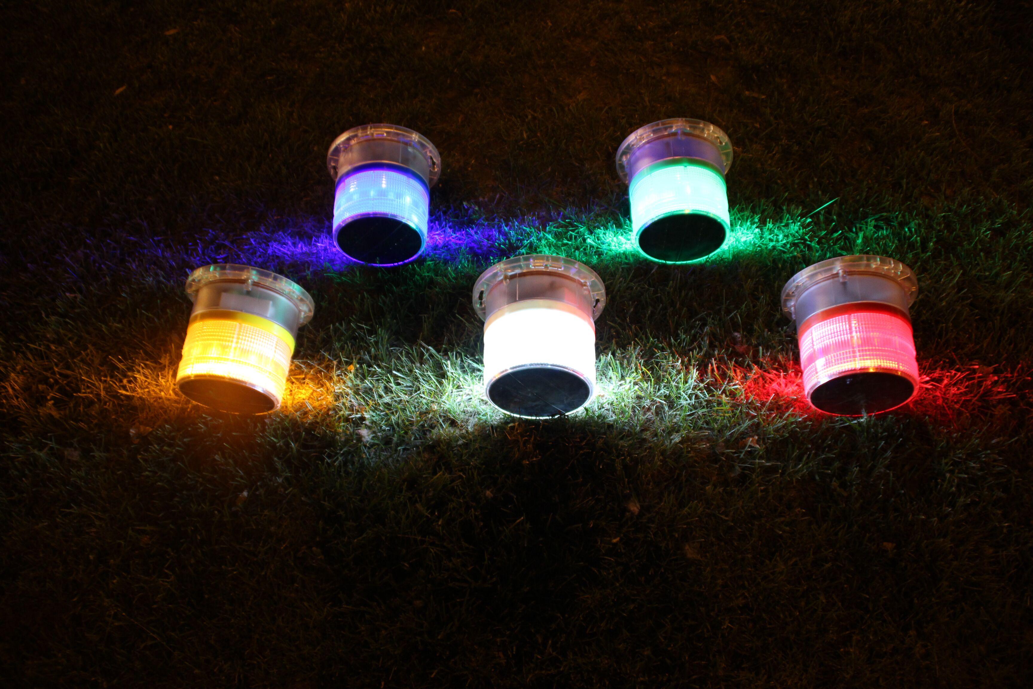 solar-power marine lantern / led navigation light
