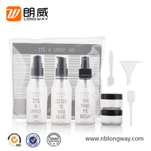 Travel Kit Bottle for Cosmetic Packaging 60ml Bottles Travel Kit
