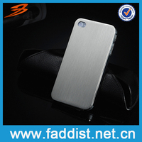 Metal Aluminum Bumper for iphone 4 Back Cover Hot Sales