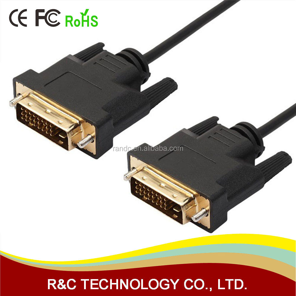 0.5M 1M 2M 3M 5M High Speed DVI to DVI Cable Adapter 3D 1080P