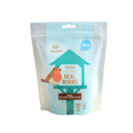 Pet Food Plastic Packaging Stand Up Pouch With Zipper For Birds Meal Worms