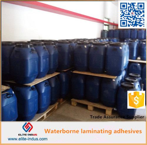 Waterbased dry lamination adhesive