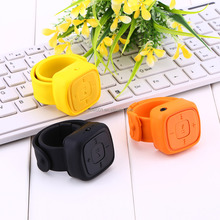 Portable Sport Mini wrist Mp3 Player 1GB/2GB/4GB/8G no screen Bracelet Mp3 Music Player With Micro TF Card Slot (MP3 ONLY)