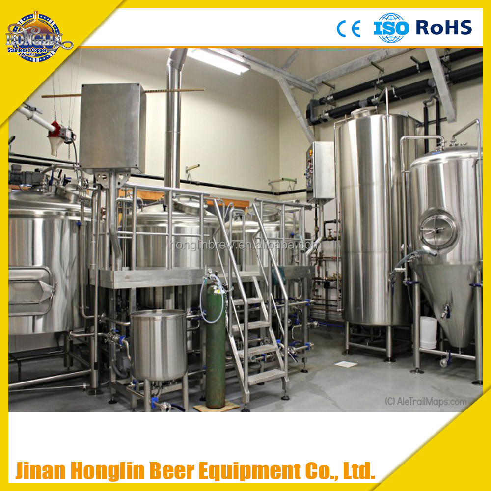 300L electrical heating ale beer brewery equipment,restaurant beer making system