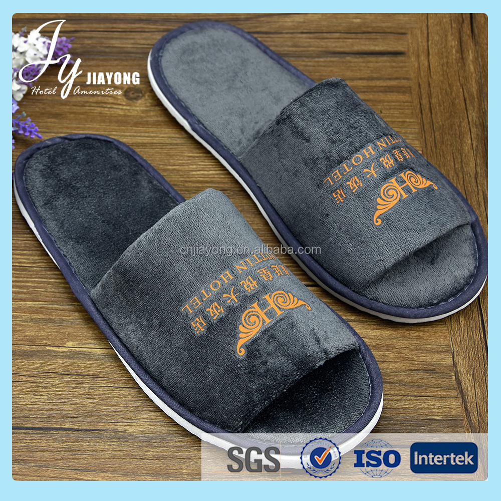 Best selling women fancy bedroom slippers custom disposable slippers