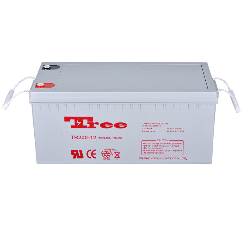 12V 200Ah rechargeable AGM separator lead acid battery