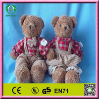 HI EN71 2014 hot sale funny christmas bear stuffed toys