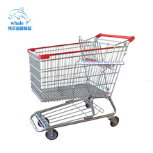 American style supermarket rollator shopping cart