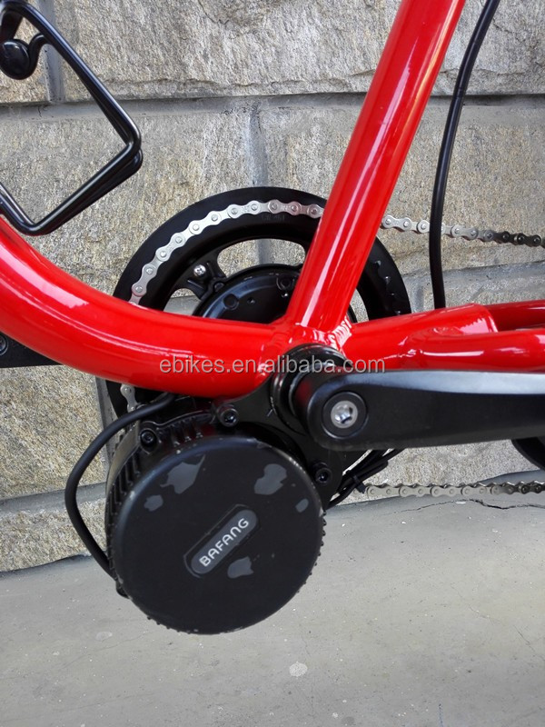 2016 New Design 48V 500W Electric Beach Cruiser Bicycle (JSE40)