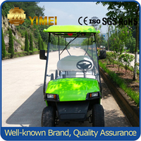 wholesale 4 wheel tire wheels drive electric golf cart with high quality