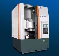 servo motor driven high precision cnc vertical lathe machine of 600mm in cutting height