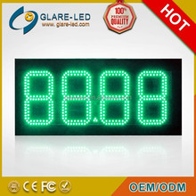 IP65 outdoor Manufacturer gas price led gasoline price sign board 88.88