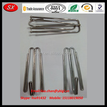 metal hooks for curtain, stainless steel curtain hooks, iron zinc plated hooks