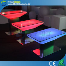led coffee table for sale / metropolitan cube coffee table