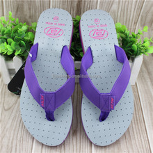 Hot design women nude beach sandals flip flops