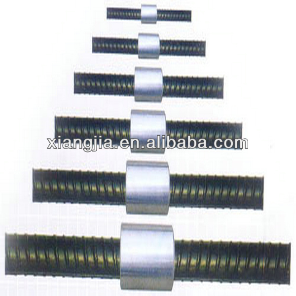 3.0mm thread pitch reinforcing bar splicing coupler