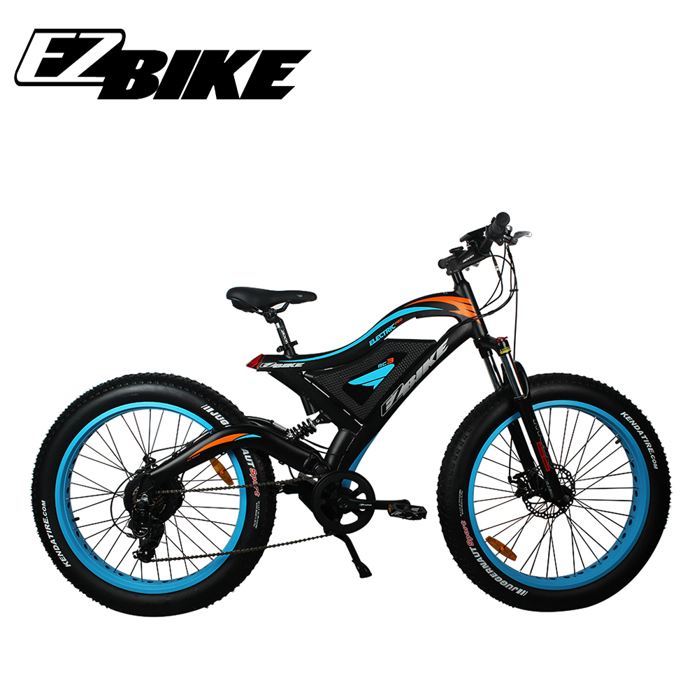 New design fashion electric bike fat tire ebike with <strong>CE</strong>