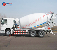 Used cheap Mini pump concrete truck concrete mixer truck for sale