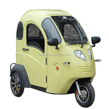 EEC Approval Closed 3 Wheels Electric Tricycle Scooter for The Elderly