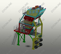 Portable Asphalt Batch Mix Plant